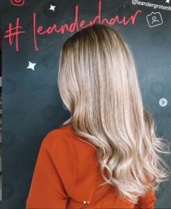 Blond haar kapper kleur arnhem Leander